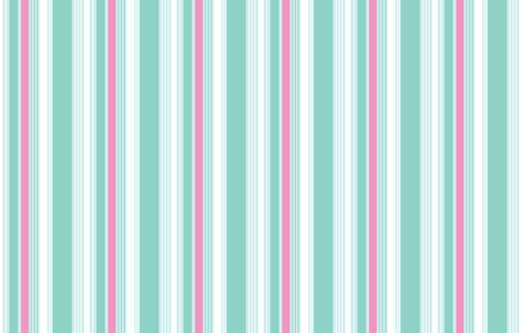 Woodland Stripe Mint fabric by emma_smith on Spoonflower - custom fabric