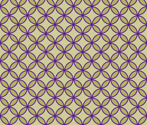 circles diamonds olive eggplant fabric by mojiarts on Spoonflower - custom fabric