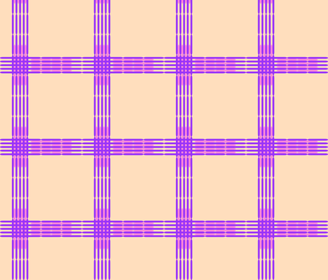 lozenge plaid fabric by mojiarts on Spoonflower - custom fabric