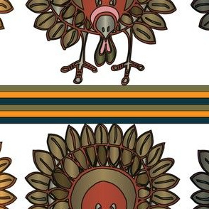 Talk Turkey In Colors and Stripes