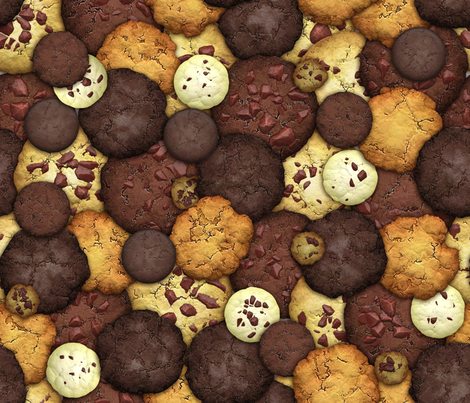 Got Cookies? fabric by bonnie_phantasm on Spoonflower - custom fabric