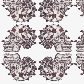 Skull_and_Roses_pattern