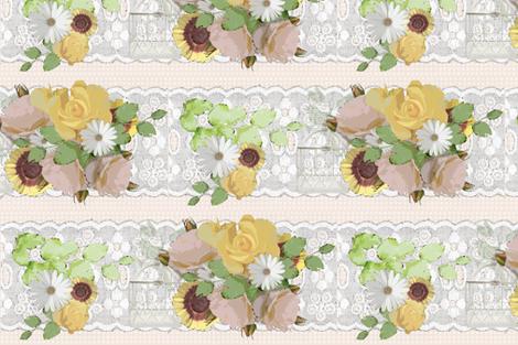 Vintage collage fabric by bibianafarenzena on Spoonflower - custom fabric