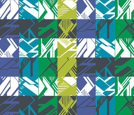 MODERNITY_Galaxy_Tapestry fabric by izeondesign on Spoonflower - custom fabric