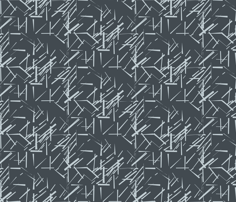 MODERNITY_Galaxy_Konstructivist_charcoal_gray fabric by izeondesign on Spoonflower - custom fabric