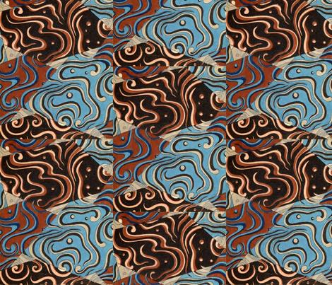 Fragments fabric by quinnanya on Spoonflower - custom fabric