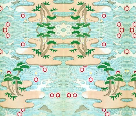 Wacky island fabric by quinnanya on Spoonflower - custom fabric