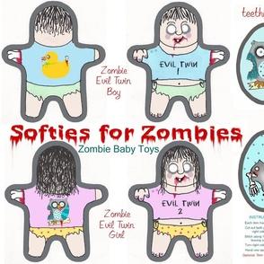 evil zombie twins