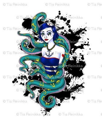 tentacle sailor girl