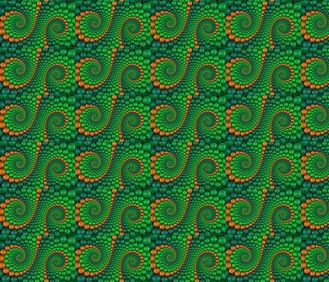 Bright Ball Swirls fabric by ceruleana_fiber_arts on Spoonflower - custom fabric