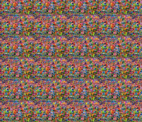Holi Colors fabric by ceruleana_fiber_arts on Spoonflower - custom fabric