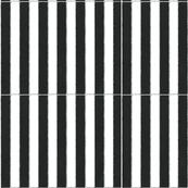 Circus Stripes - black
