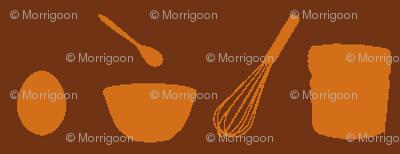 Clara's Souffle: Eggs Stir Mix Bake-brown