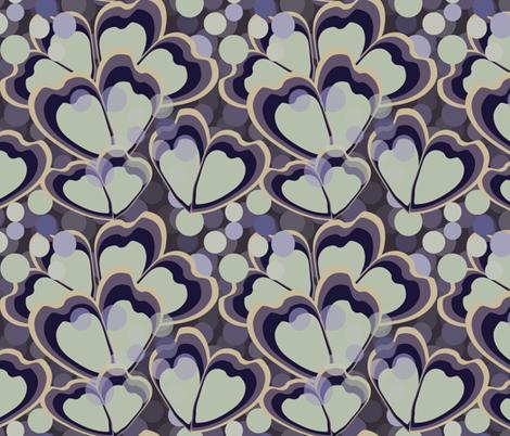 dancers coordinate in violet fabric by kociara on Spoonflower - custom fabric