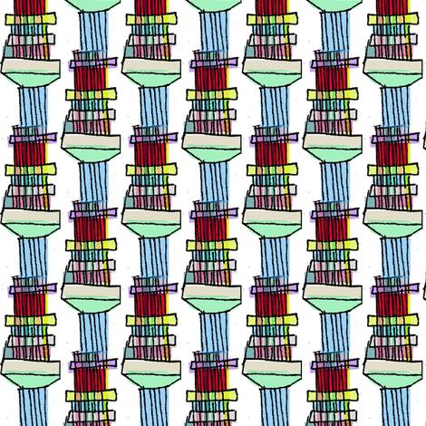 Loom Columns fabric by boris_thumbkin on Spoonflower - custom fabric