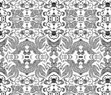 Angel-birds fabric by quinnanya on Spoonflower - custom fabric