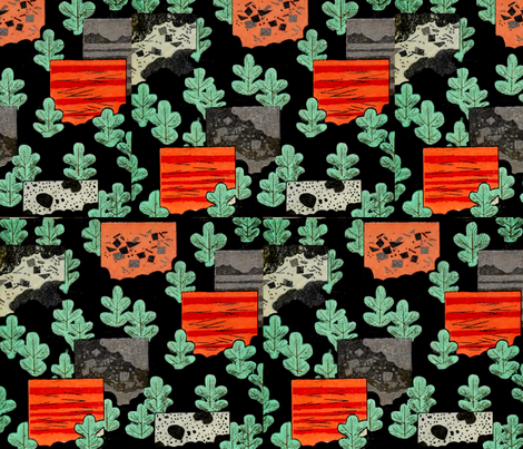 Hide-and-go-seek fabric by quinnanya on Spoonflower - custom fabric