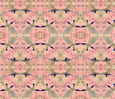 Diamonds in flight fabric by quinnanya on Spoonflower - custom fabric