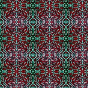 Tribal Coral Pattern
