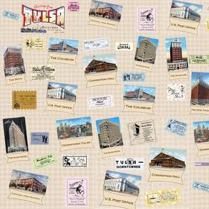 Vintage Tulsa Postcards & Ads