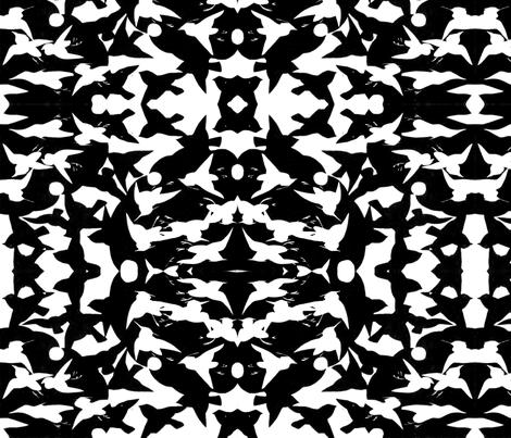 Birds fabric by quinnanya on Spoonflower - custom fabric
