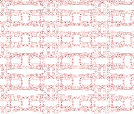 Swiss Edelweiss Lace fabric by boris_thumbkin on Spoonflower - custom fabric
