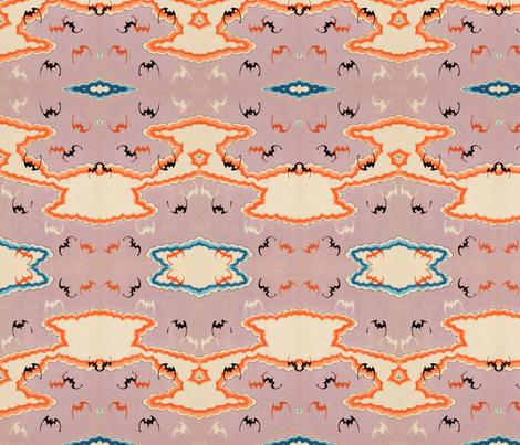Bats fabric by quinnanya on Spoonflower - custom fabric