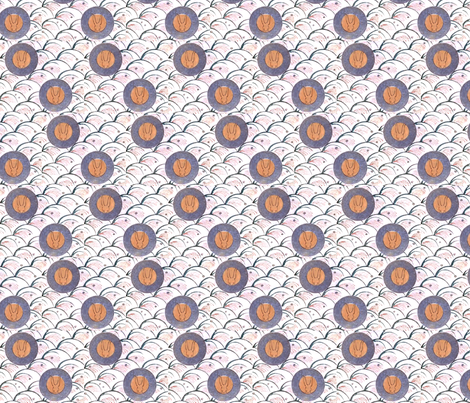 Bunny gestation fabric by quinnanya on Spoonflower - custom fabric