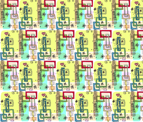 Springtime fabric by boris_thumbkin on Spoonflower - custom fabric