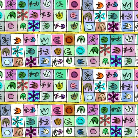 Memory Game fabric by boris_thumbkin on Spoonflower - custom fabric