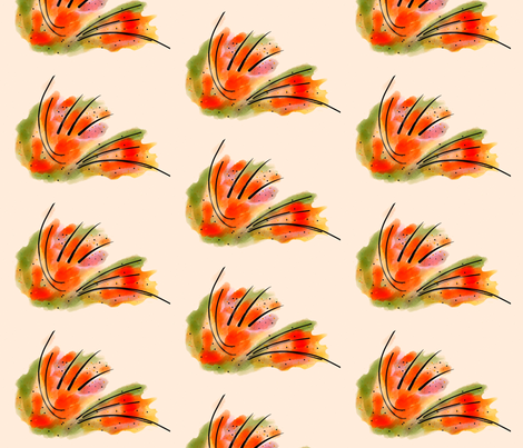 Tiger stripes-ed fabric by lingsy on Spoonflower - custom fabric