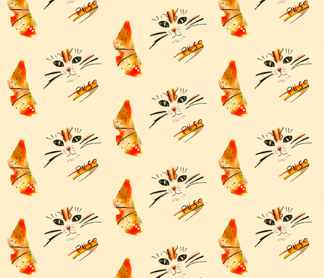Puss in Boots-ed fabric by lingsy on Spoonflower - custom fabric