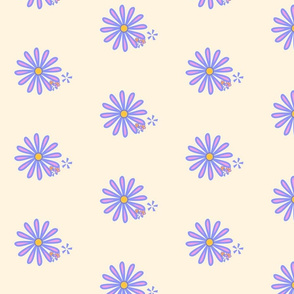 pink flower on tangerine 3