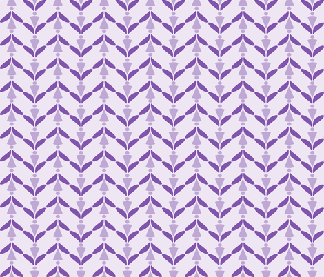 herringbone eggplant fabric by mojiarts on Spoonflower - custom fabric