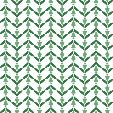herringbone green 19 fabric by mojiarts on Spoonflower - custom fabric