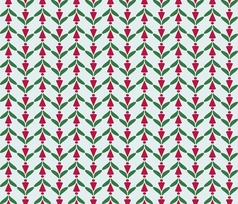 xmas herringbone 2 fabric by mojiarts on Spoonflower - custom fabric