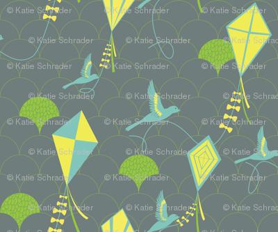 Avian Kite Flyers