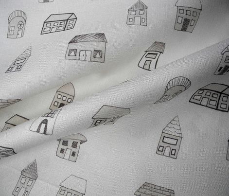 House Print - Warm Gray