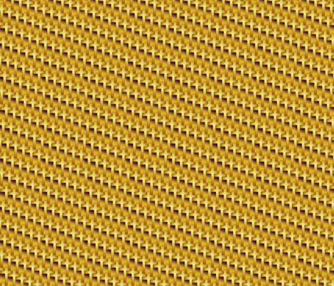 gold_cross_weave_on_gold fabric by glimmericks on Spoonflower - custom fabric