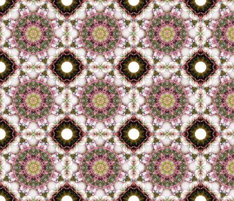 kaleidoscopic hydrengae fabric by kociara on Spoonflower - custom fabric