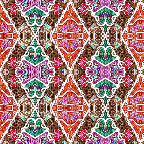 Tangled Laces Argyle fabric by edsel2084 on Spoonflower - custom fabric
