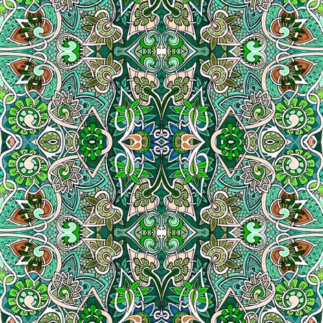 The Casual Gardener fabric by edsel2084 on Spoonflower - custom fabric