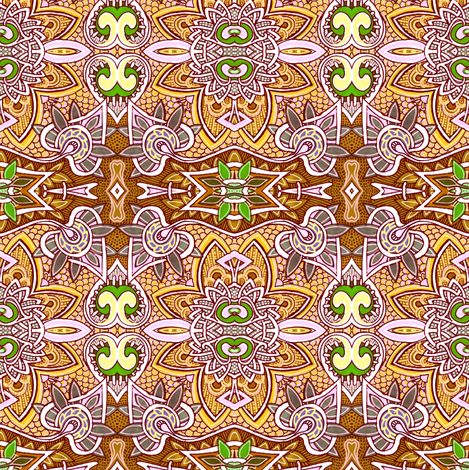 Hello Cowgirl fabric by edsel2084 on Spoonflower - custom fabric