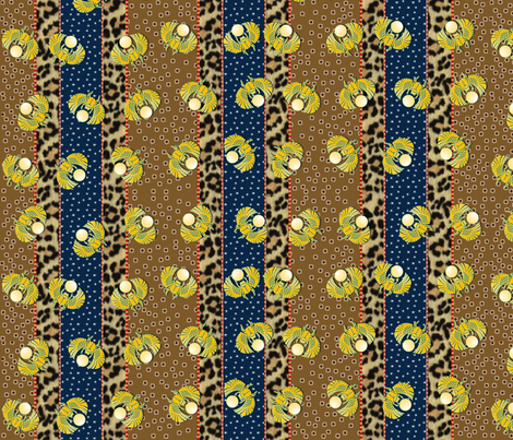 heart_of_egypt vertical fabric by glimmericks on Spoonflower - custom fabric