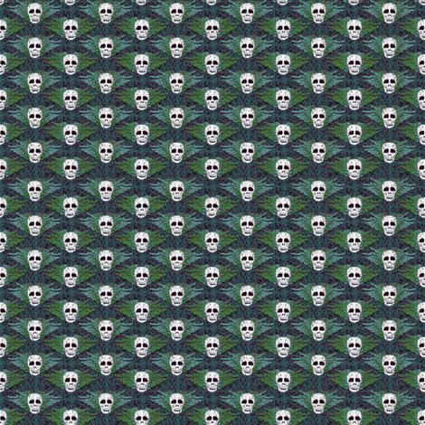 winged_skulls_02 fabric by glimmericks on Spoonflower - custom fabric