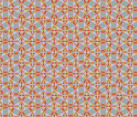 geometry_of_color_dusk fabric by glimmericks on Spoonflower - custom fabric