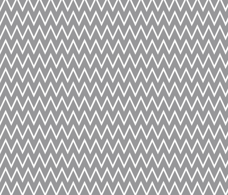 Chevron Gray  fabric by allisajacobs on Spoonflower - custom fabric