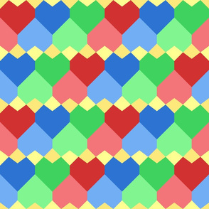 Quilt Hearts