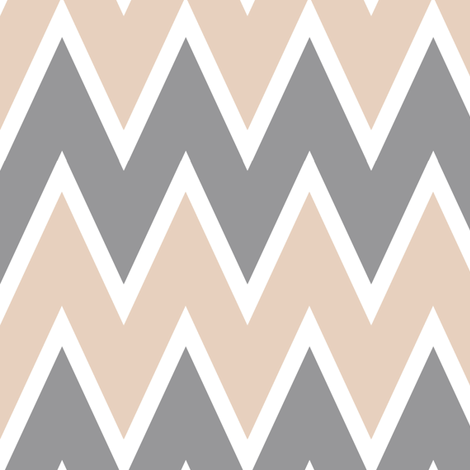 Chevron Blush fabric by allisajacobs on Spoonflower - custom fabric