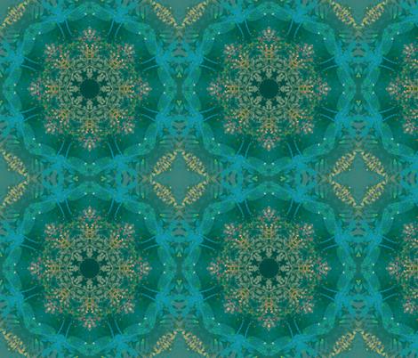 kaleidoscopic dragonfly fabric by kociara on Spoonflower - custom fabric